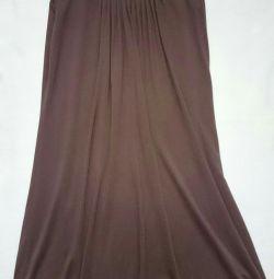 Πλεκτό φόρεμα, βισκόζη