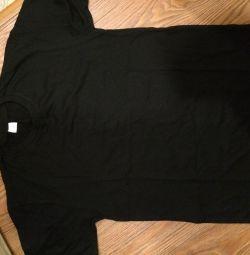 Tricouri negre unisex. Tricotaje Uzbek