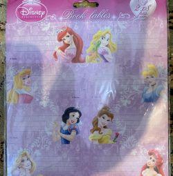 Наклейки для тетрадей «Принцессы»