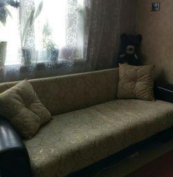 Chic large sofa