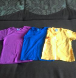 Νέα μπλουζάκια 3 για 100 γρ.