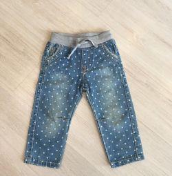 Bir kız için kot pantolon (yeni)