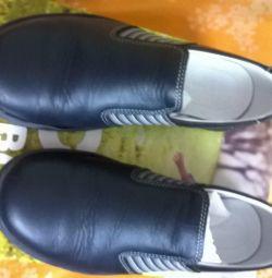 pantofi din piele 32 branț 21 cm