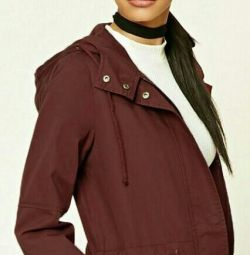 Forever21 Long Windbreaker ΝΕΟ