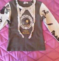 Μπλούζα για τα κορίτσια 122-128r.