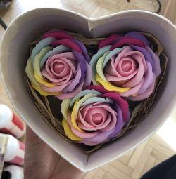 Soap Flowers gift