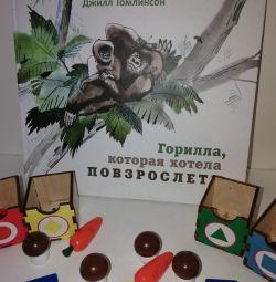 O nouă carte cu gorile care dorea să crească