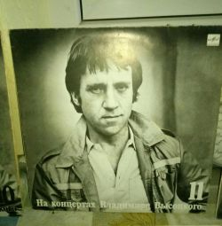 15 vinyl records high