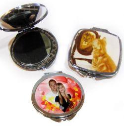 Oglindă cu fotografie la comandă