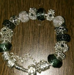 Pandora στυλ καρφίτσα 18 r