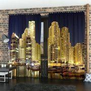 Photocurtains Night Dubai