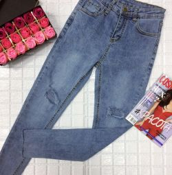 Jeans, overall sizes