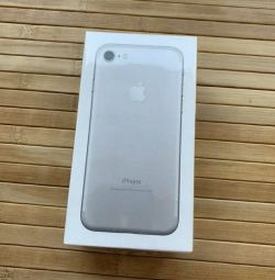Apple iPhone 7 silver 32gb, new in box