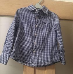 Рубашка бенетон