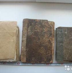 Kilise kitapları, devrim öncesi,