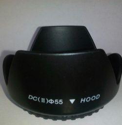 Новая бленда для зеркального фотоаппарата 55mm