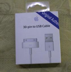 IPhone 4 için kablo 1m kopya