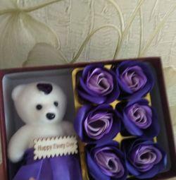 Gift Flowers Set