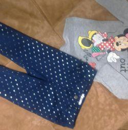 Kız için pantolon