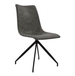 METAL CHAIR HM8039.10 CELESTE WITH PU SEAT