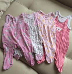 Clothes for girl (romper suit)