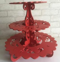 Cake stand for cake