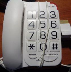 Two landline phones GordenTX 201 siemens805S
