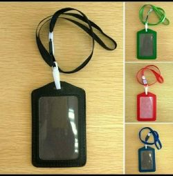 Strap for card, badge