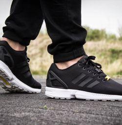 Adidas ZX Flux negru / alb