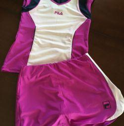 Tennis suit