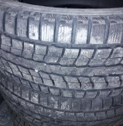I will sell winter tires DUNLOP R17.