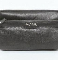 New leather husbands. Clutches Tony Perotti (Italy)