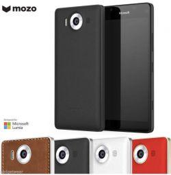 Шкіряний чохол задня панель на Lumia 950