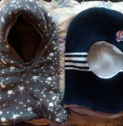 Bir erkek için kış şapka