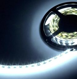 Benzi LED 12V 14,4 W 5050 IP65 rece
