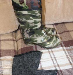 Νέες μπότες χακί