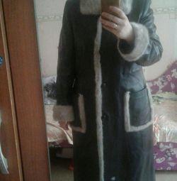 Genuine leather cloak 50-52