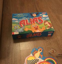 Children's board game Alias