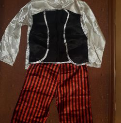 Pirate and Spiderman Costumes