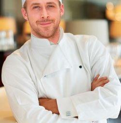 Şef, aşçı gerekli