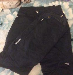 Dağcı veya dağ kayakçı pantolon