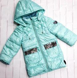 Παιδικά μπουφάν για κορίτσια την άνοιξη