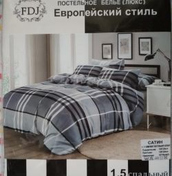 New 1.5 bedding satin