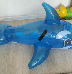 Yunus şişme yeni uzunluk 115 cm