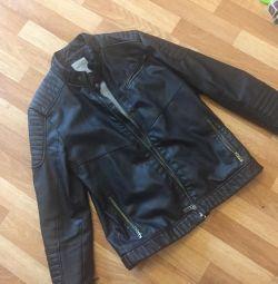 Куртка кожаная зам