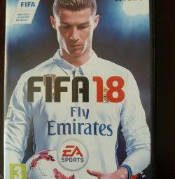 Диск Fifa 2018 на ПК