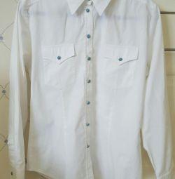 Λευκό ποιοτικό πουκάμισο