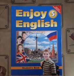 English textbook grade 5. Avt Biboletova