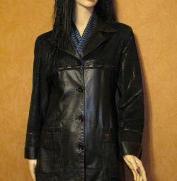 Jachetă din piele (copil)