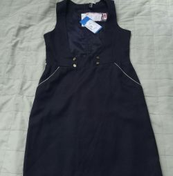 School sundress new r. 152